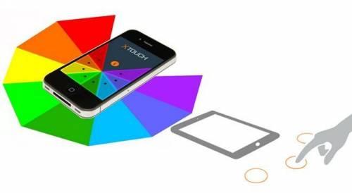 直接觸碰桌面就可以控制手機? XTouch 創造手機虛擬按鈕