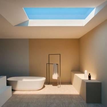 CoeLux 模擬自然陽光的天窗 把室內變永晝