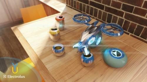 用飛行機器人做調酒?? Yura會不會太誇張!