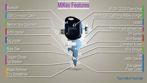連鑰匙都要智慧型!MiKey 短小精幹!
