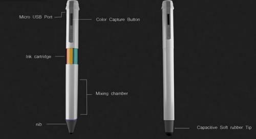 喜歡哪種顏色就補捉它畫出來!16萬色塗鴉筆