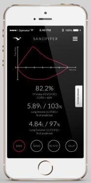 你的肺活量好嗎?SandPiper 用手機幫你測!