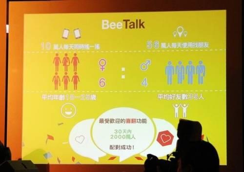 BeeTalk最夯交友app 喜翻配對交友 和世界做鄰居