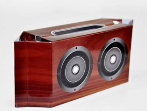 紙 也可以成為音箱箱體的選擇