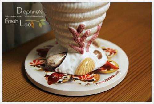 STAYREAL 水果 草莓 巧克力樂園陶瓷杯墊 杯墊鬆餅傻傻分不清楚