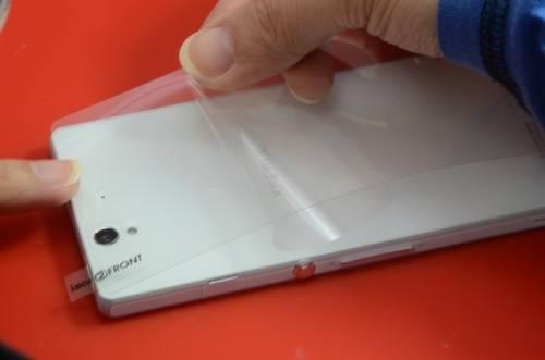 這張保護貼 讓Xperia Z防護更上一層