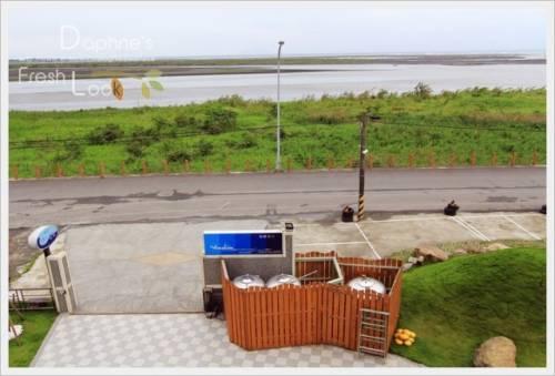 宜蘭五結 蘭陽溪口海景民宿 住海邊也不無聊