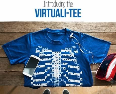 穿了這件T-shirt 就能看見你的器官構造!