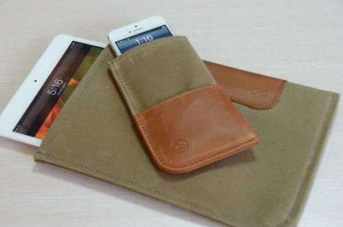 帆布經典保護套 讓你 iPhone 5與 iPad mini 更具質感