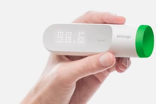 Withings 智能體溫計 使用起來更衛生!
