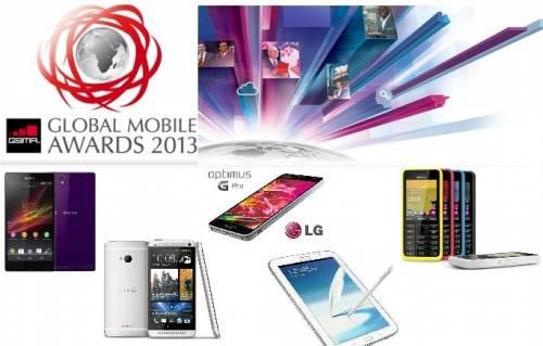 2013 MWC 年度新手機大獎 得獎的是