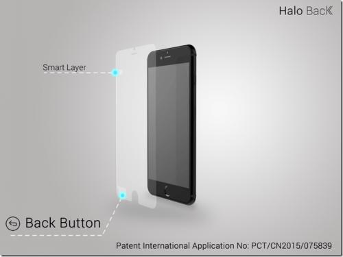 Halo Back 智能螢幕保護貼 輕鬆回到上一頁