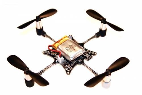 巴掌大四軸飛行器 開放源碼讓你DIY改造