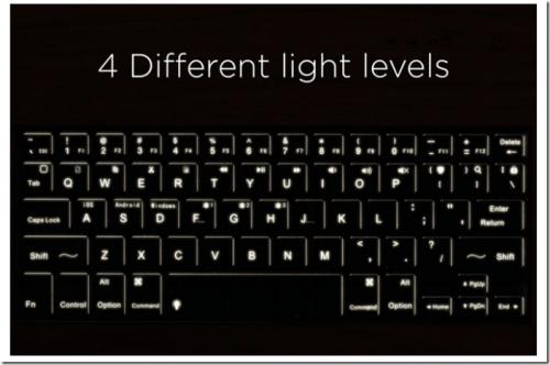 Libre 全球最薄的無線鍵盤 輕薄美型質感佳