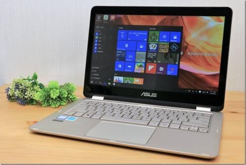 ASUS ZenBook Flip UX360CA 360 度翻轉商務筆電新應用