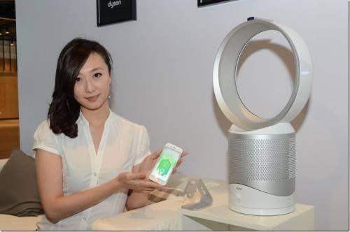 空氣清淨氣流倍增器再進化 加入智慧功能 Dyson Pure Cool Link 空氣品質更清新