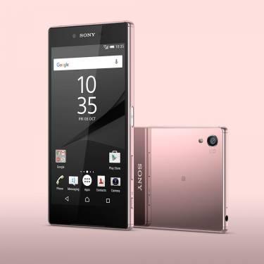 Sony 4K 螢幕手機 Xperia Z5 Premium 玫瑰石英粉色 閃耀發表