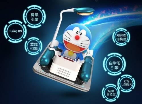 實現童年夢想 具有人工智慧的哆啦A夢機器人