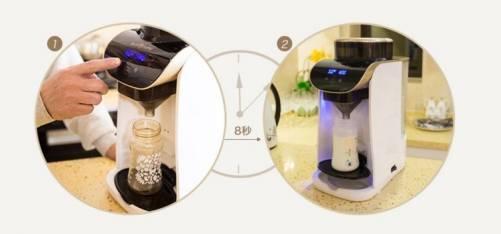 化繁為簡 一鍵沖奶智慧沖奶機 做個從容爸媽
