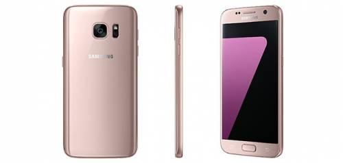 粉紅色Samsung Galaxy S7 S7 edge亮相 母親節前可望登台