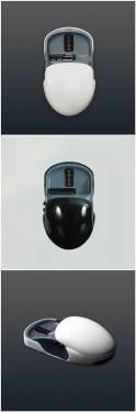 可變型的滑鼠 Tmouse 兩種握法 紓解手部疲勞
