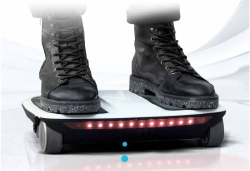 說滑就滑 iCARBOT 四輪體感車