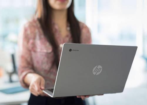 HP全新Chromebook 13亮相 鋁合金外殼呈現出冷冽科技感