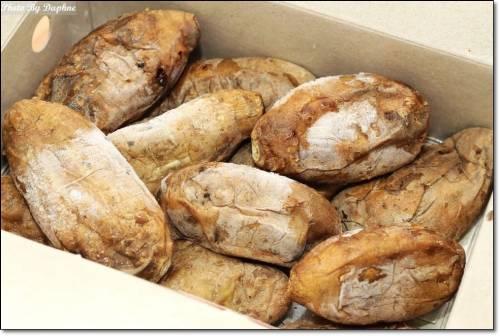 台南團購美食 蕃薯媽媽手工炭烤地瓜 蜜地瓜 可以客製甜度的超綿密地瓜