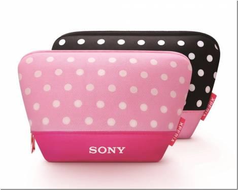 購買 Sony Xperia全系列手機 獨家贈送點點化妝包
