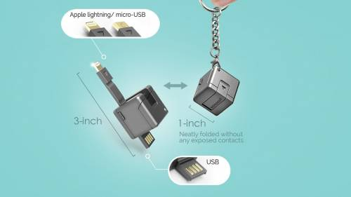 WonderCube 手機配件中的瑞士軍刀 小小體積 八大功能