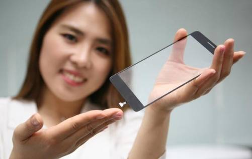 LG新技術 讓整個手機螢幕都能進行指紋辨識