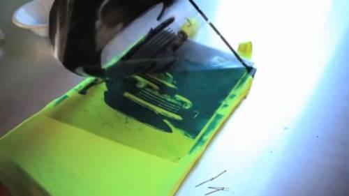 太陽能光感打印墨水 輕鬆製作獨一無二專屬潮T