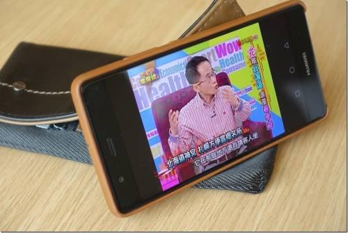 在每個等待時間關心時事 亞太電信 Gt TV 行動電視 用手機觀看電視新聞