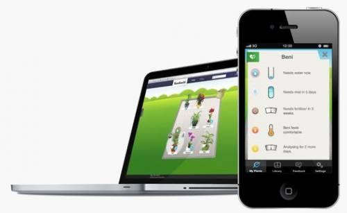 虛擬園丁用手機就可以回報植物健康狀況