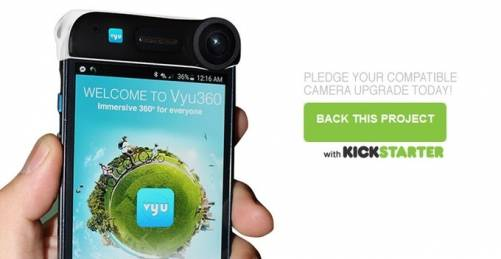 Vyu360 花小錢 手機輕鬆升級 360°拍攝不受限
