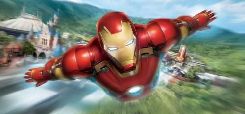 香港迪士尼樂園全新鋼鐵人主題遊樂設施「鐵甲奇俠飛行之旅」