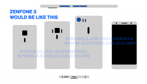 ZenFone 3規格曝光 高階版本將搭載2300萬畫素鏡頭與4GB RAM