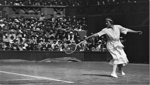 [Google Doodle] Suzanne Lenglen 好威!開創職業女子網球先驅